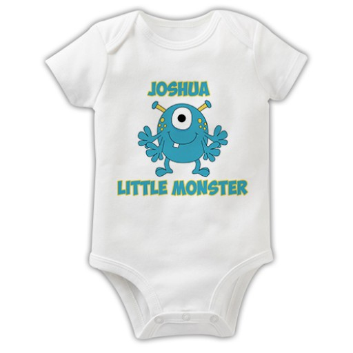 8dca8e99c Baby Grow - Little Monster - For Baby - BY RECIPIENT