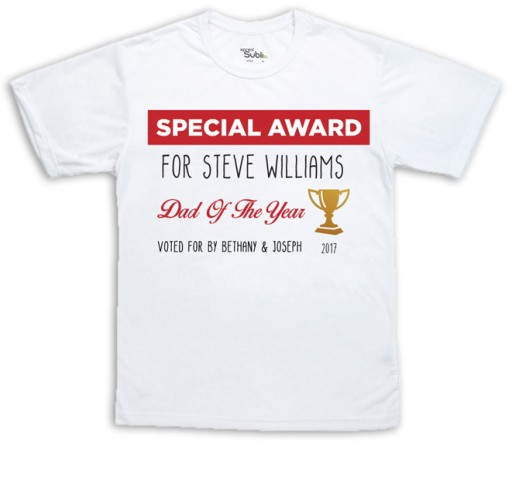 Sublimation T-Shirt - Special Award