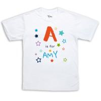 Sublimation T-Shirt - Alphabet
