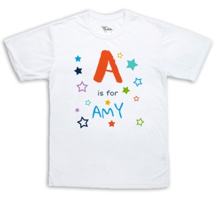 Sublimation T-Shirt - Alphabet