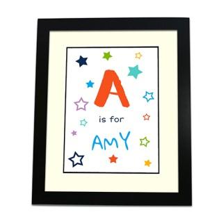 Framed Print - Alphabet