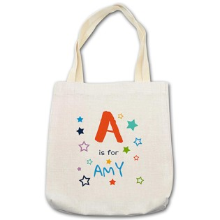 Shopping Bag - Alphabet