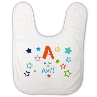 Baby Bib - Alphabet