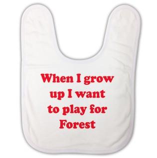 Baby Bib - When I Grow Up