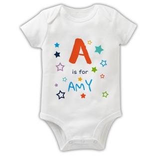 Baby Grow - Alphabet