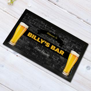Personalised Bar Runner Any Names Bar 44x25cm