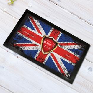 Personalised Door Floor Mat Union Jack