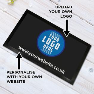 Personalised Bar Runner Your Logo 44x25cm