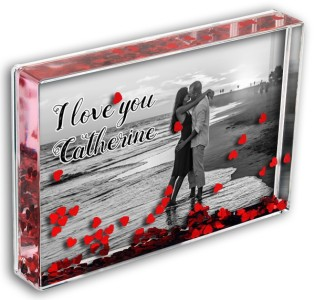 Love Heart Photo Block Add Any Photo & Any Message