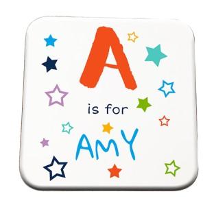 Coaster - Alphabet