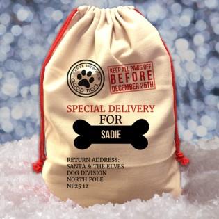 Santa Sack - Dog Xmas