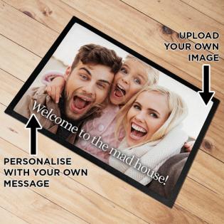 Personalised Door Mat Photo Upload