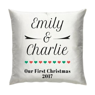 Cushion -  1st Christmas Together