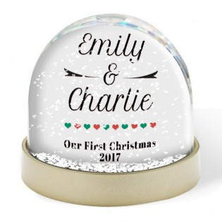 Snow Globe - 1st Christmas Together