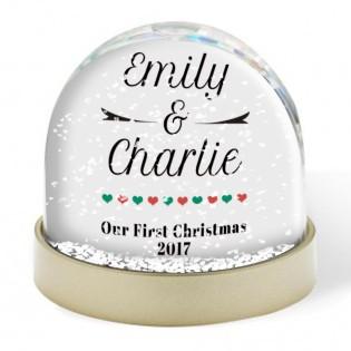 Snow Globe - 1st Christmas Together