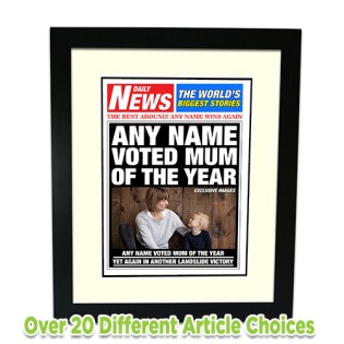 Framed Print - Newspaper Photo Upload