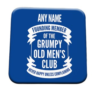 Coaster Grumpy Old Mens Club
