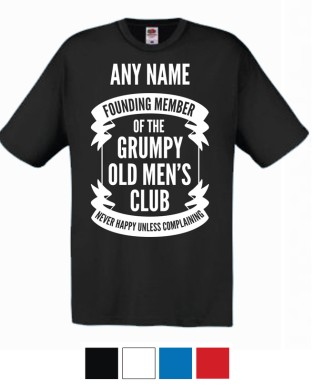 Original T-shirt Grumpy Old Mens Club