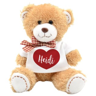Teddy Bear Heart Name