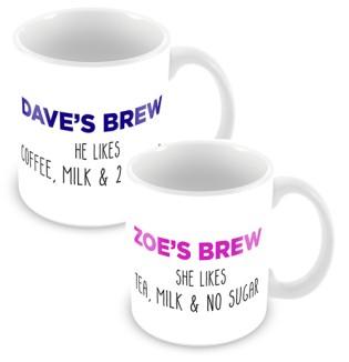 Mug - Set His & Hers