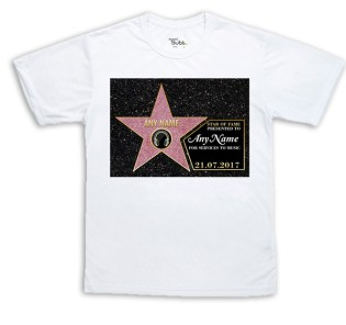 Sublimation T-Shirt - Hollywood Star