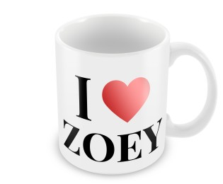 Personalised Valentines Day Mug I love