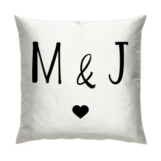 Cushion - Initials