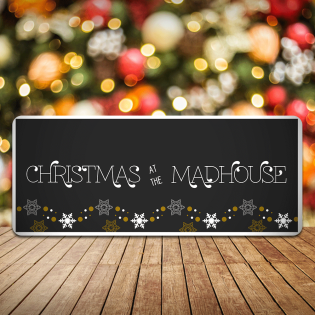 Personalised Christmas Sign Sleigh- Christmas At the Any Family