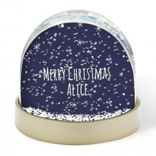 Snow Globe - Merry Christmas