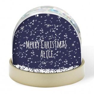 Snow Globe - Merry Christmas