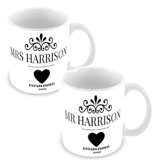 Mug - Set Mr & Mrs