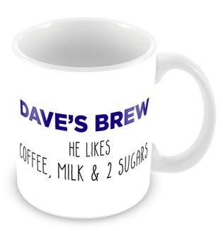 Mug - He Drinks