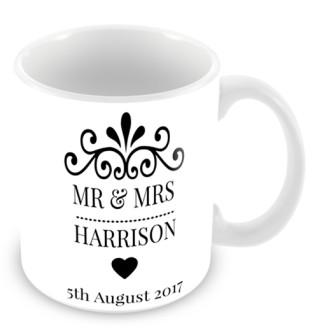 Mug - Mr & Mrs