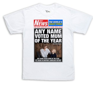 Sublimation T-Shirt - Newspaper