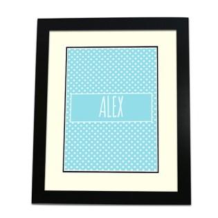 Framed Print - Polka Dots