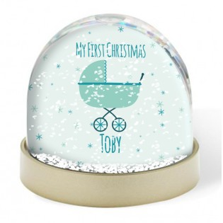 Snow Globe - Baby 1st Christmas Boy
