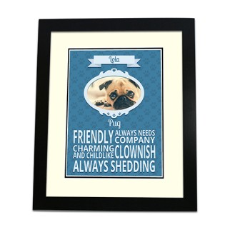 Framed Print - Dog Breed Photo Upload