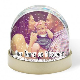 Snow Globe - Any Photo & Any Message