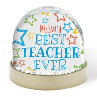 Snow Globe - Best Teacher