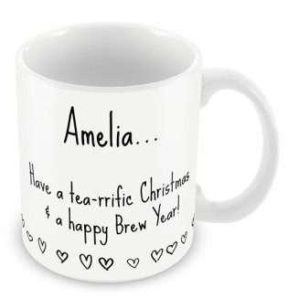 Mug -  Tea-rific Christmas