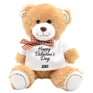 Teddy Bear Happy Valentines Day