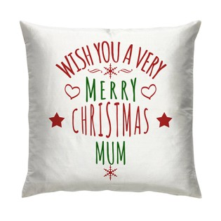 Cushion -  Wishing you A Merry Christmas