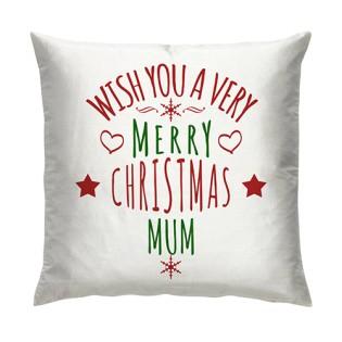 Cushion -  Wishing you A Merry Christmas