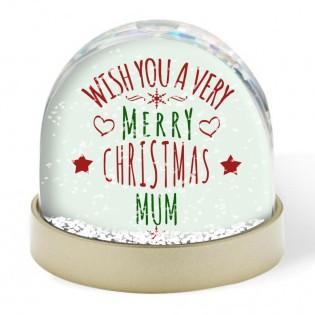 Snow Globe - Wish You A Merry Christmas