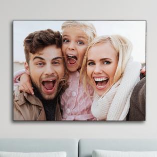 Personalised Wooden Chromaluxe Photo Panel