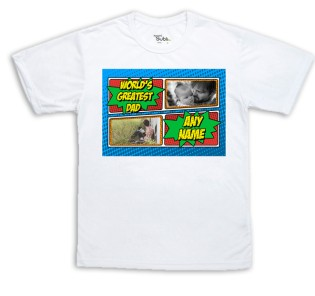 Sublimation T-Shirt - Worlds Greatest Photo Upload