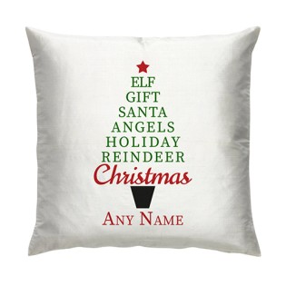 Cushion -  Christmas Tree