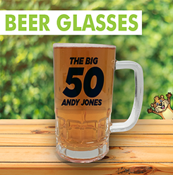 Personalised Pint Glasses