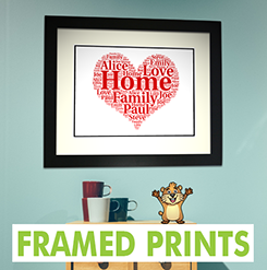 Personalised Framed Prints