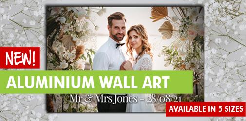 Personalised Aluminium Wall Art